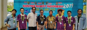 Kontes Robot Indonesia Tingkat Nasional Tahun 2019