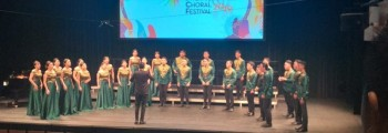 Singapore International Choral Festival (SICF) 2019 UNSRAT CHOIR Meraih Gold Medal