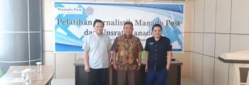 Pelatihan Jurnalistik Manado Post dan Unsrat Manado