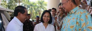 Menteri Pemuda dan Olahraga Dr. H. Zainudin Amali, S.E., M.Si berkunjung di Universitas Sam Ratulangi
