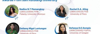 Awardee IISMA (Indonesian Student Mobility Awards)  Universitas Sam Ratulangi